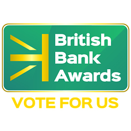 British Bank Awards - Vote for us